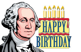 Washington's Birthday header